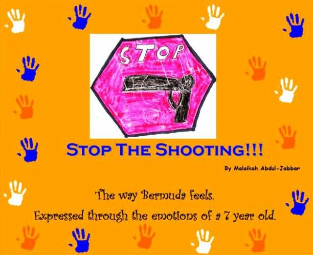 """The book cover of """"Stop the Shooting"""", which is due out within weeks"""