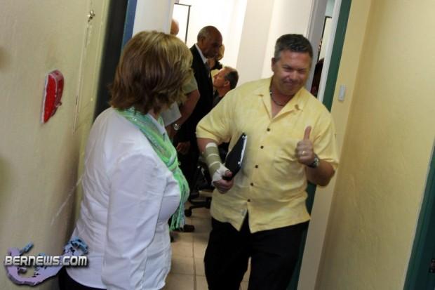 UBP HQ After Vote Bermuda May 3 2011-2