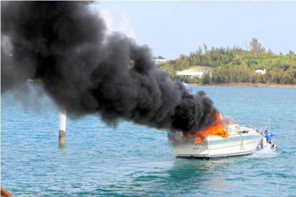 boat pics fire