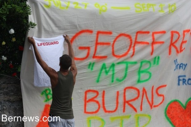 geoffret burns tribute
