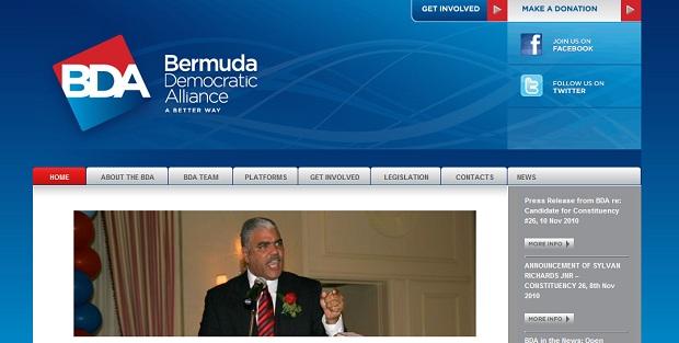 bermuda democratic alliance website