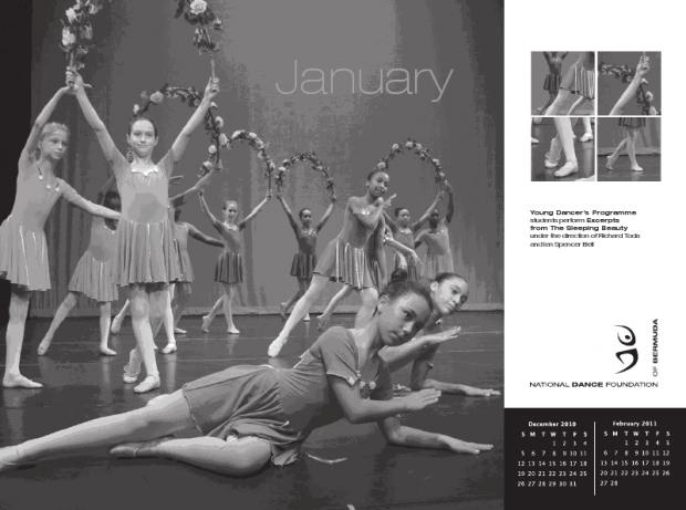 dance bermuda calendar