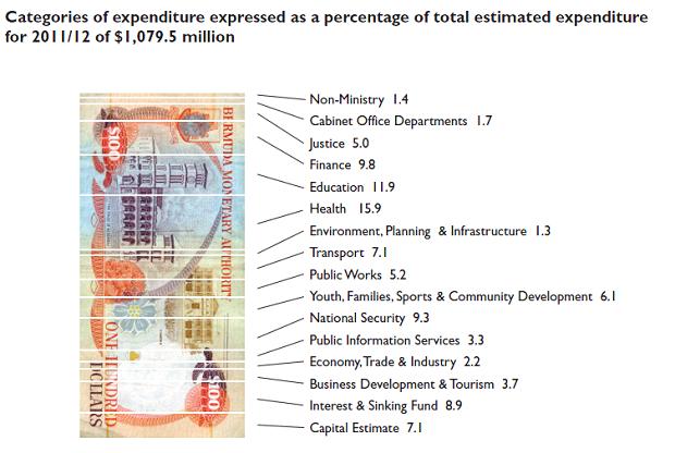 2011 budget charts 2
