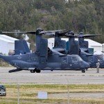 CV-22 Osprey US Air Force Aircraft  Bermuda Mar 21st 2011-1