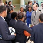 Prince Edward Princess Sophie Earl and Countess of Wessex at Berkeley Institute Bermuda Mar 17th 2011-7