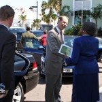 Prince Edward Princess Sophie Earl and Countess of Wessex at Berkeley Institute Bermuda Mar 17th 2011