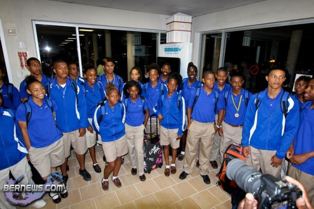 Carifta Track and Field Bermuda April 26 2011-1-2