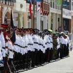 Queens Birthday Parade Bermuda Regiment Police Sea Cadets Reserve Police  June 18 2011 -1-17