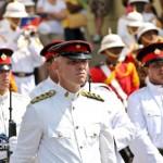 Queens Birthday Parade Bermuda Regiment Police Sea Cadets Reserve Police  June 18 2011 -1-37