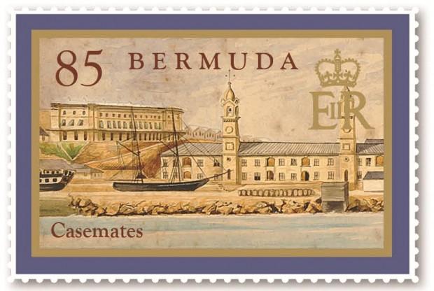Casemates stamps (3)