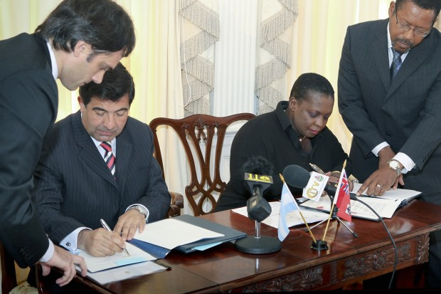 Photo 1 - TIEA Signing with Argentina