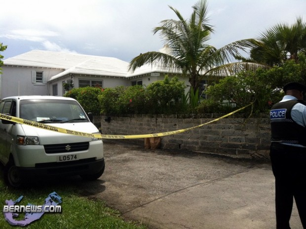 Police Berry Hill Road Bermuda September 2 2011