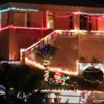 Christmas Decorations Lights Lighting Bermuda December 2011-1-16