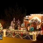 Christmas Decorations Lights Lighting Bermuda December 2011-1-2