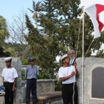Annual Commemorative Service For King's Pilot James 'Jemmy' Darrell Bermuda Apr 14 2012 (12)