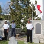 Annual Commemorative Service For King's Pilot James 'Jemmy' Darrell Bermuda Apr 14 2012 (18)
