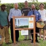 Sunshine League's Catlin Community Garden Opened Bermuda June 7 2012-016