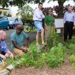 Sunshine League's Catlin Community Garden Opened Bermuda June 7 2012-018