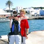 Chris Fertig Arrives In Bermuda, August 5 2012 (11)
