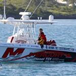 Chris Fertig Arrives In Bermuda, August 5 2012 (2)