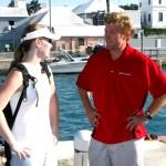 Chris Fertig Arrives In Bermuda, August 5 2012 (3)