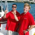 Chris Fertig Arrives In Bermuda, August 5 2012 (6)