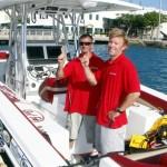 Chris Fertig Arrives In Bermuda, August 5 2012 (7)