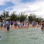 Fripper Turtle Release Clearwater Beach Bermuda August 14 2012 (25)