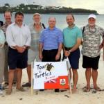 Fripper Turtle Release Clearwater Beach Bermuda August 14 2012 (26)