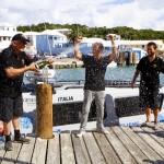 Fabio Buzzi in Col Moschin Set New New York to Bermuda Challenge Record, September 28 2012 (2)