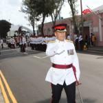 Bermuda Regiment Commanding Officer Lt Col Brian Gonzalves