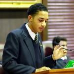 Convening of Youth Parliament Bermuda, November15 2012-24