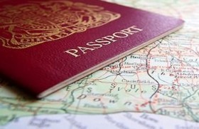 passport map generic immigration