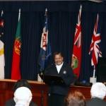 Monsignor Filipe de Paiva Macedo Honour Ceremony Bermuda, November 30 2012 (2)