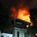Structural Fire, Hamilton Bermuda, December 19 2012 (1)