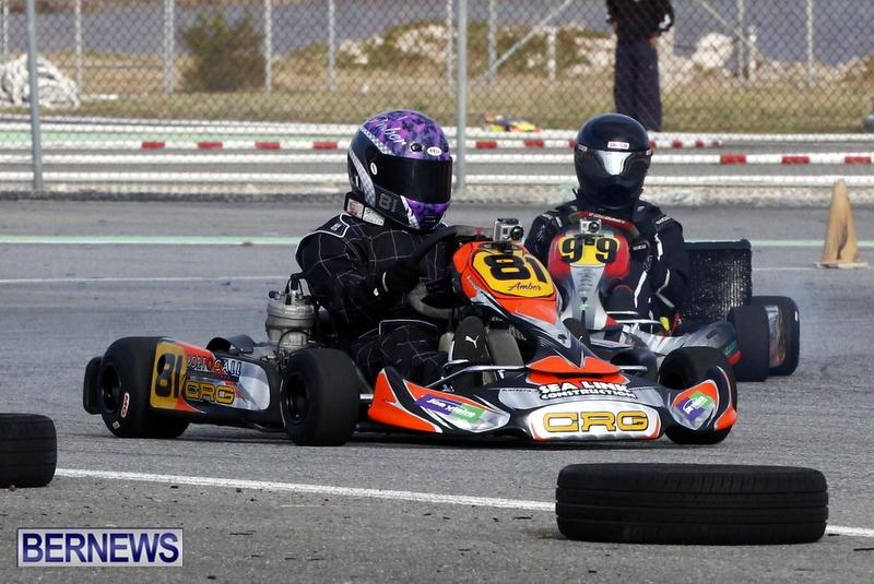 Karting GoKarts Bermuda racing Races  January 6 2013 (2)