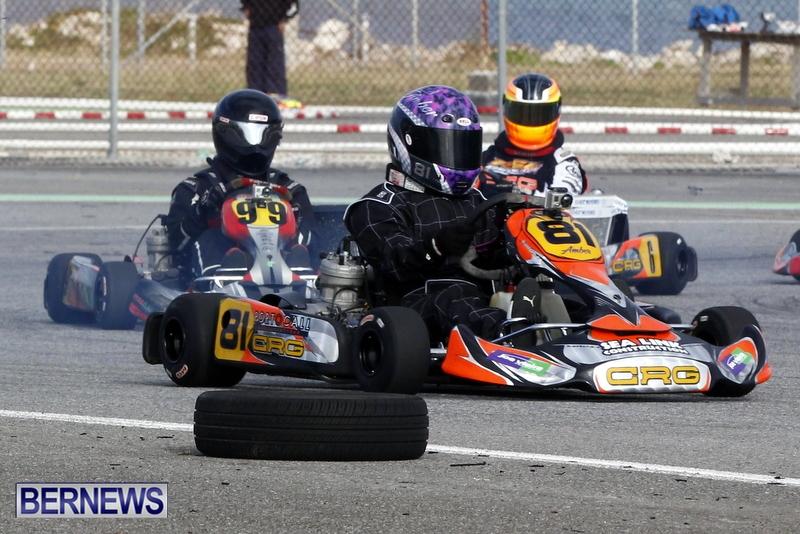 Karting GoKarts Bermuda racing Races  January 6 2013 (3)