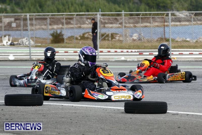 Karting GoKarts Bermuda racing Races  January 6 2013 (7)