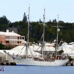 Training Tall Ship Christian Radich, St George's Bermuda, January 15 2013 (2)