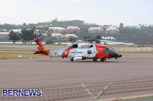 us coast guard chopper bermuda feb 9 2013