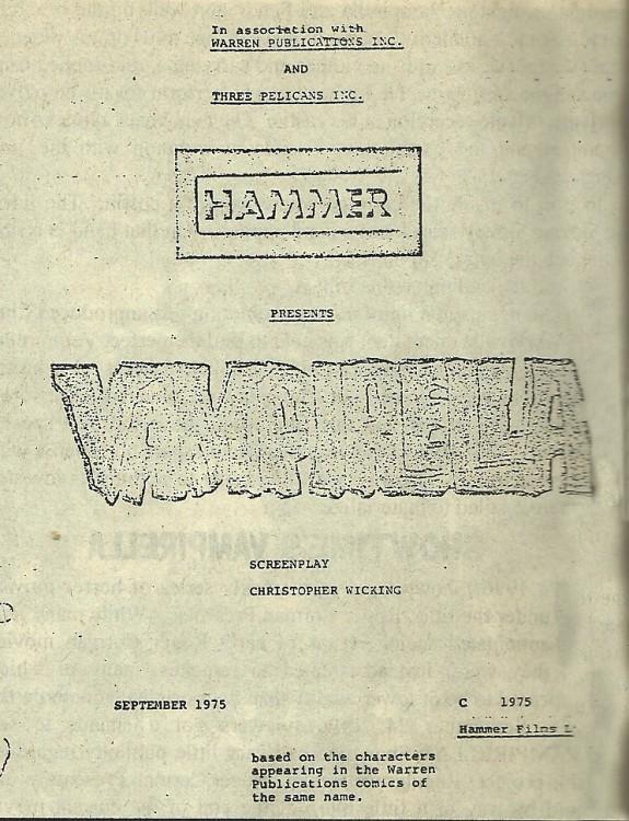 vampirella script a