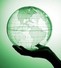 earth globe green generic