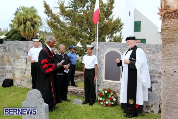 King's Pilot James Jemmy Darrell Commemorative Service, Bermuda April 13 2013 (19)