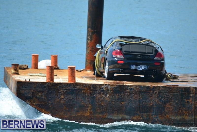 Car Overboard Bermuda May 16 2013 (13)