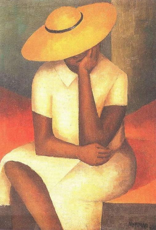 Norman Lewis Yellow Hat 1936_jpg