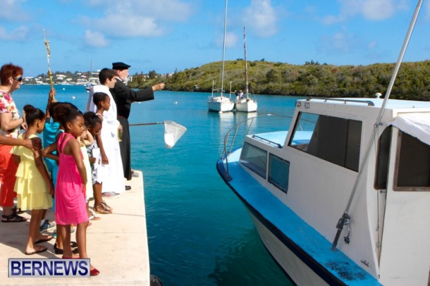 Blessing Of The Boats Bermuda, June 9 2013-3
