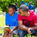 Men Reading At Elliot Primary School Bermuda, June 7 2013-36