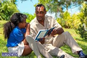 Men Reading At Elliot Primary School Bermuda, June 7 2013-45