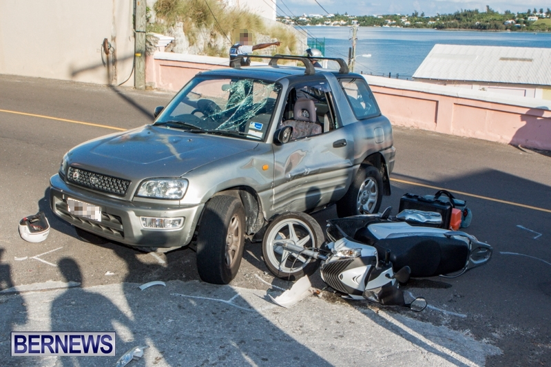 Car-Bike-Accident-St-Georges-Bermuda-July-11-2013-3