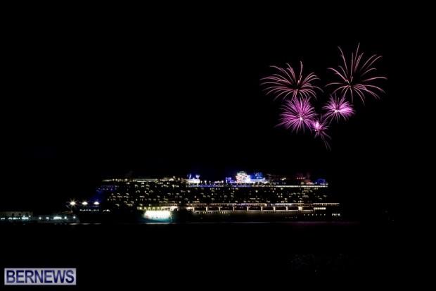Norwegian Breakaway Fireworks